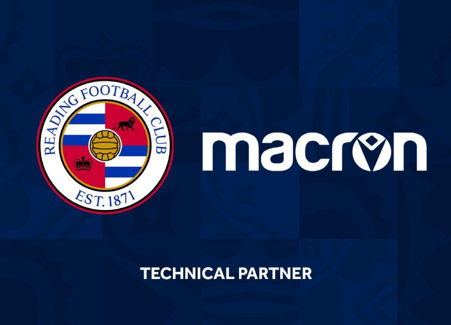 Reading FC Announce Macron Kit Deal #ReadingFC #MacronSports