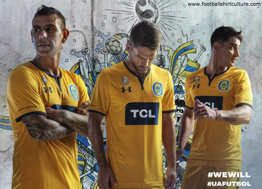 Rosário Central 2019 Under Armour Away Kit #RosárioCentral #UAFutbol