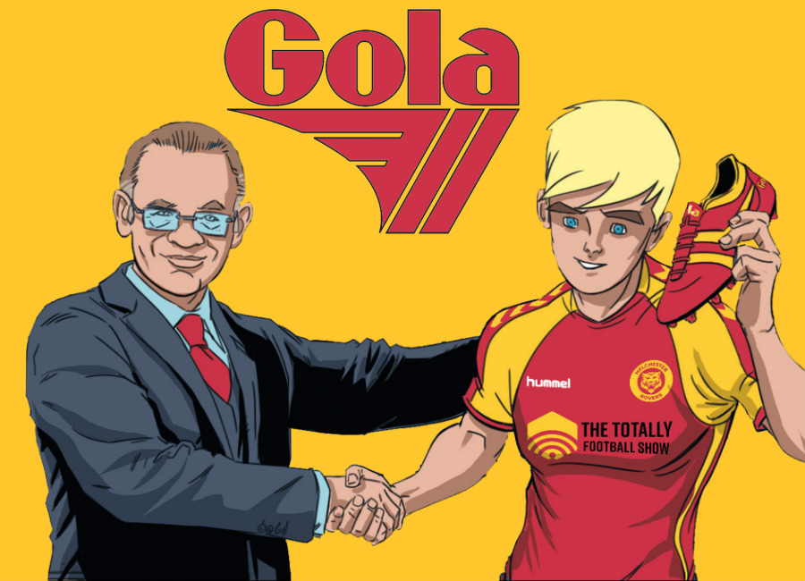 Roy of the Rovers Signs Boot Deal With Gola #RoyOfTheRovers #footballboots
