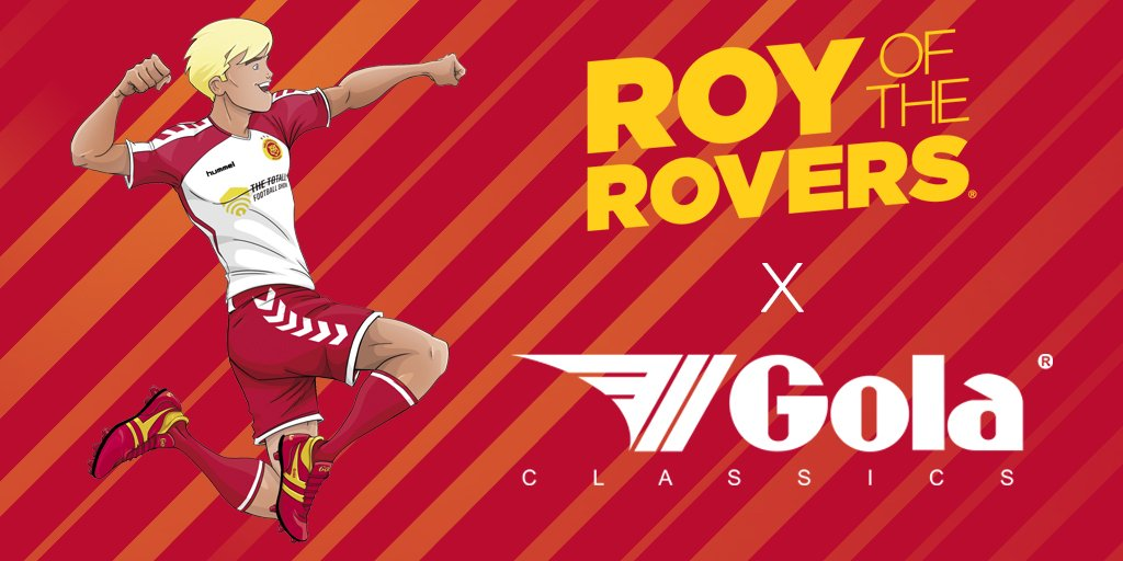 roy of the rovers signs boot deal with gola b