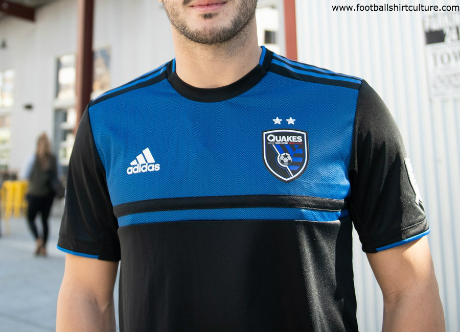 San Jose Earthquakes 2019 Adidas Home Kit #Quakes74 #WeAreSanJose #JoseSanJoseEarthquakes #mls #adidassoccer #adidasfootball