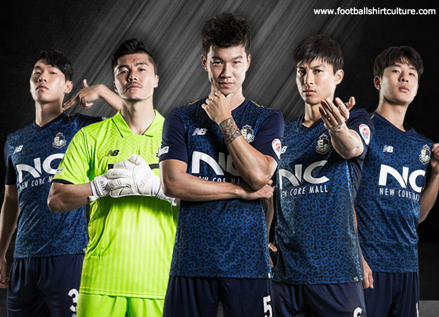 Seoul E-Land 2019 New Balance Home Kit #SeoulELand #kleague #nbfootball