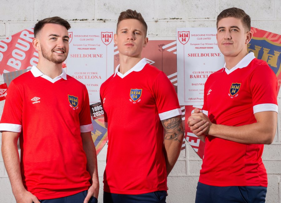 Shelbourne FC 2020 Umbro Home Kit #ShelbourneFC #WeAreShels #umbro