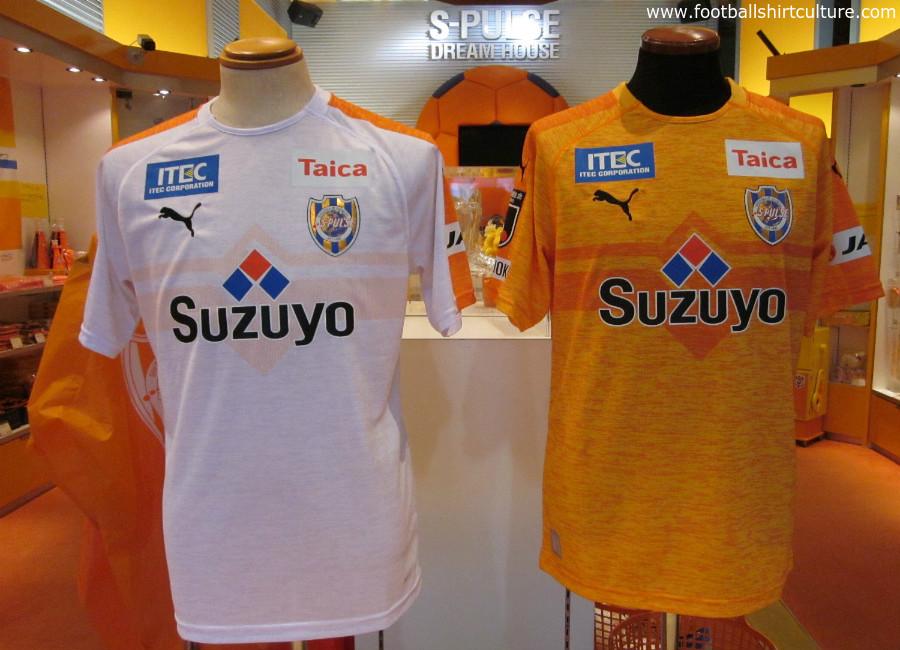 Shimizu S-Pulse 2019 Puma Home & Away Kits   18/19 Kits   Football ...