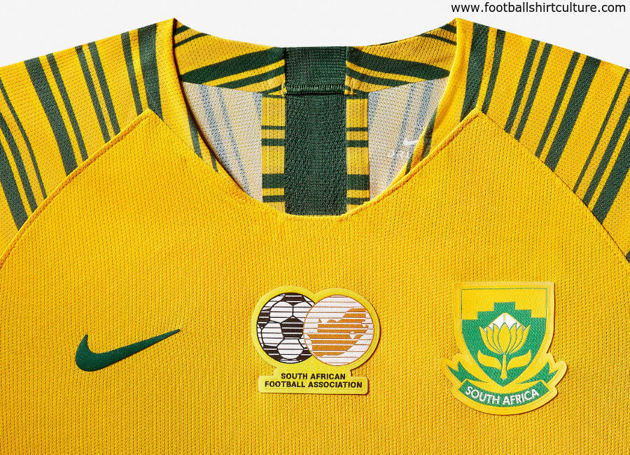 South Africa 2019 Women's World Cup Nike Home Kit #nikefootball #nikesoccer #BanyanaBanyana