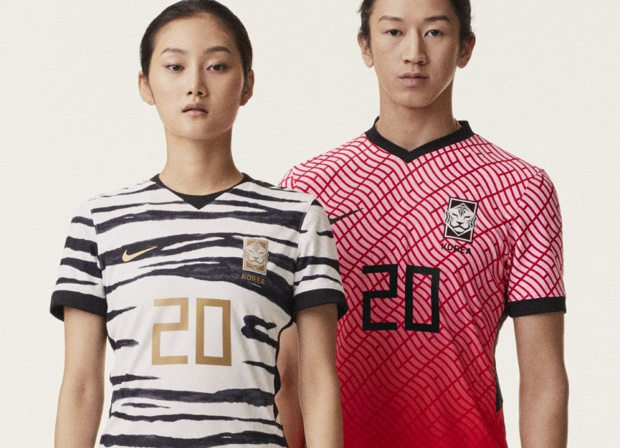 South Korea 2020 Nike Home & Away Kits #Korea #nikefootball #footballshirt