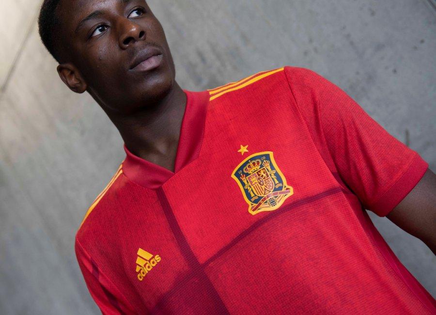 Spain EURO 2020 Adidas Home Kit | 19/20 Kits | Football shirt blog