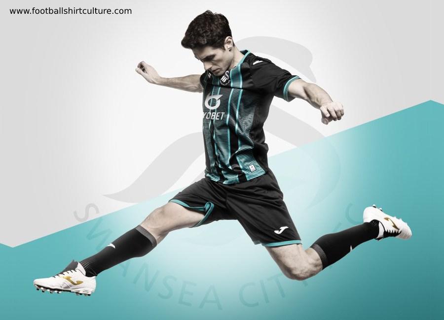 timeless design 9f630 363f8 Swansea City 2019-20 Joma Away Kit | 19/20 Kits | Football ...