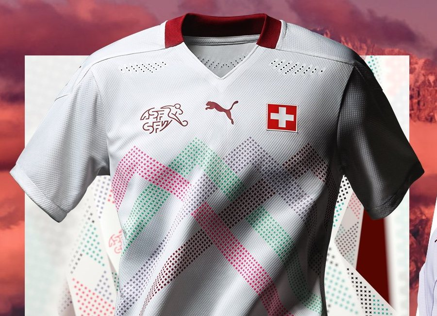 Switzerland 2020-21 Puma Away Kit #HopSuisse #ForzaSvizzera #footballshirt