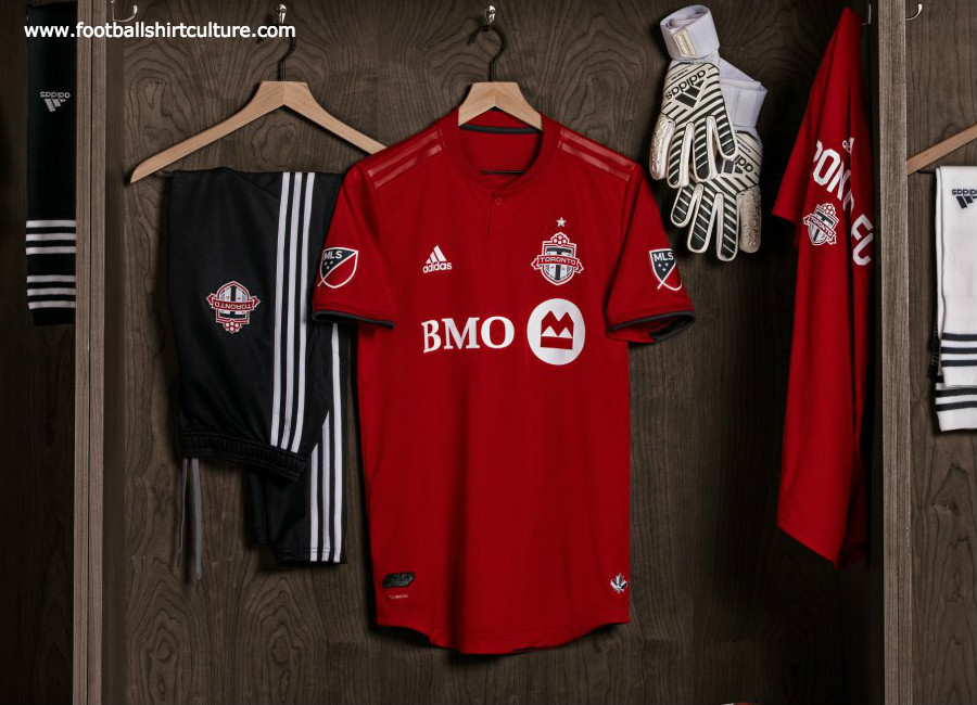new style ce381 c9145 Toronto FC 2019 Adidas Home Kit | 18/19 Kits | Football ...