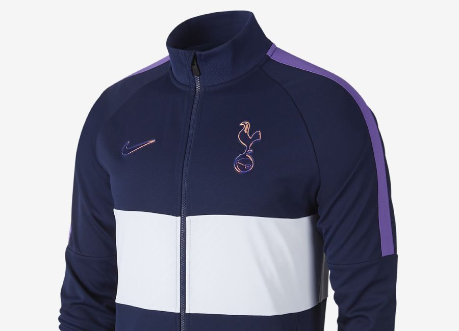 Tottenham Hotspur Jacket - Binary Blue / White / Action Grape / Binary Blue #TottenhamHotspur #thfc #nikefootball
