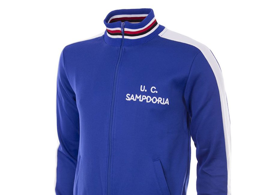 U. C. Sampdoria 1979-80 Copa Retro Football Jacket #UCSampdoria #Sampdoria #Samp