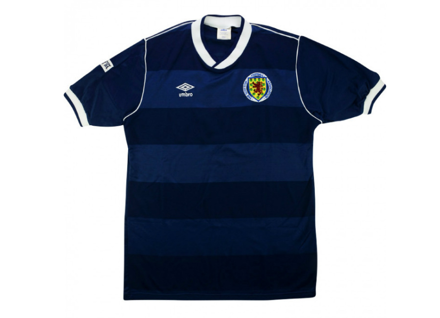 Umbro 1986-88 Scotland Match Issue Home Shirt #umbro #matchworn #scottishfootball #footballshirt
