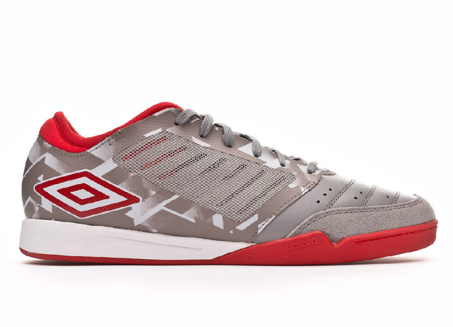 d46144a13eb4 Umbro Chaleira Pro IC - Gray Flannel   Goji Berry  futsal  umbro   indoorsoccer