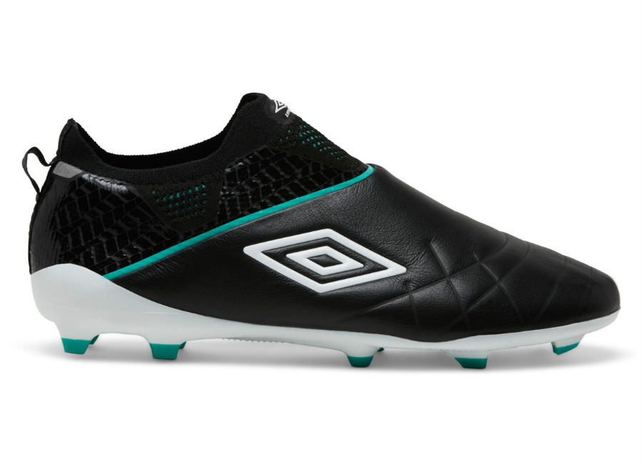 Umbro Medusae III Elite HG - Black / White / Marine Green #umbro #footballboots