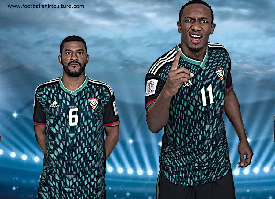 United Arab Emirates 2019 Adidas Away Kit