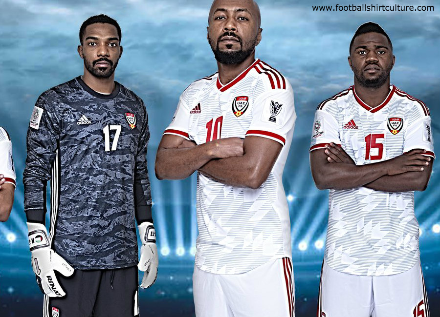 United Arab Emirates 2019 Adidas Home Kit