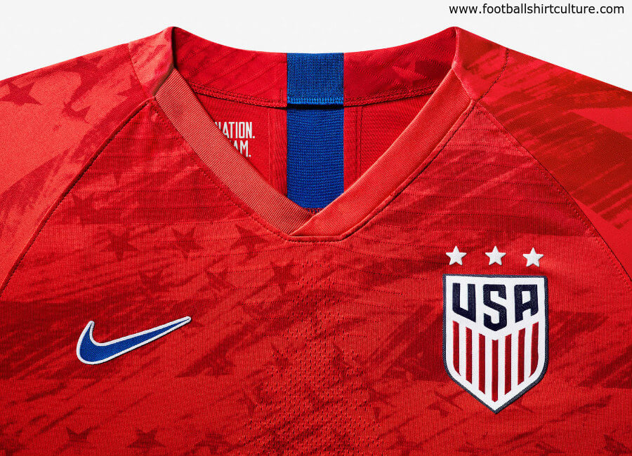 United States 2019 Women's World Cup Nike Away Kit #USWNT #ussoccer #nikesoccer #nikefootball