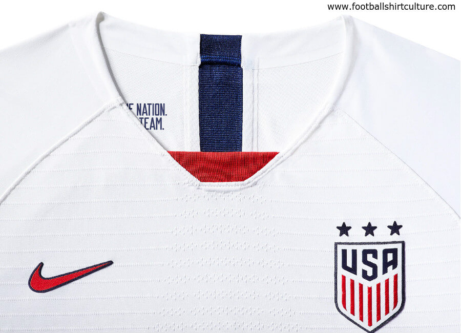 United States 2019 Women's World Cup Nike Home Kit #USWNT #ussoccer #nikesoccer #nikefootball