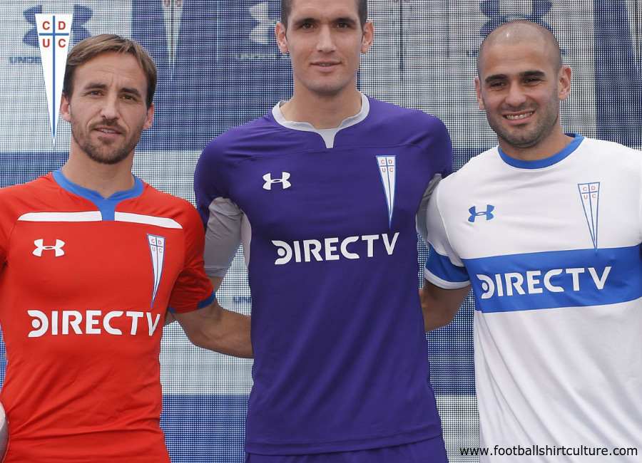 Universidad Católica 2019 Under Armour Home & Away Kits #VamosCatólica #loscruzados