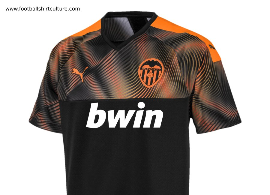 huge selection of a1a63 85935 Valencia 2019-20 Puma Away Kit | 19/20 Kits | Football shirt ...