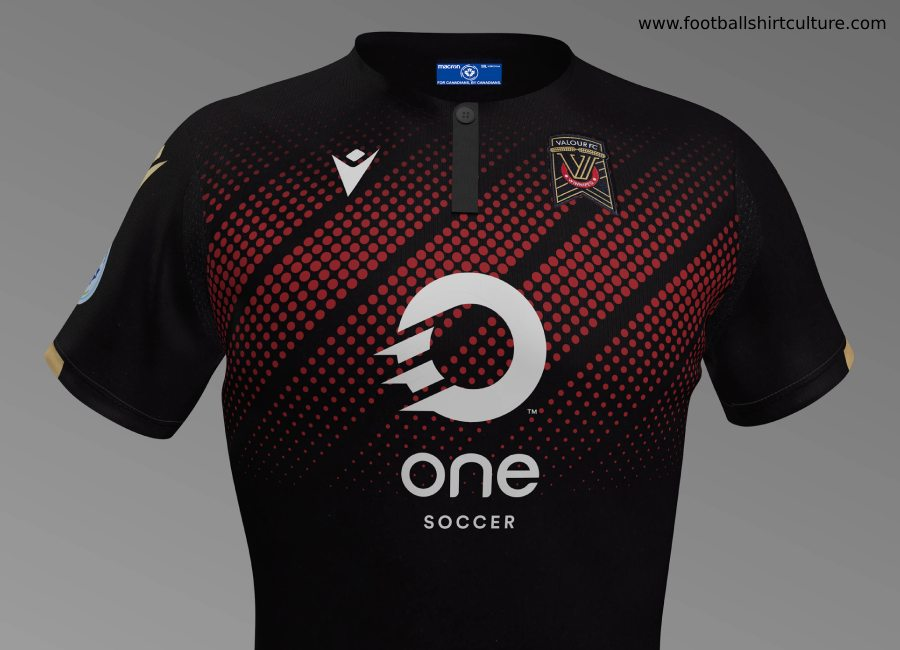 Valour FC 2019 Macron Away Kit #ForValour #ValourFC #CanPL