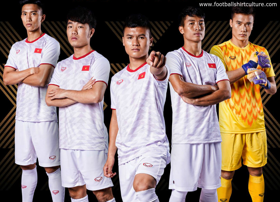 Vietnam 2019 Grand Sport Away Kit  0bfde3cca