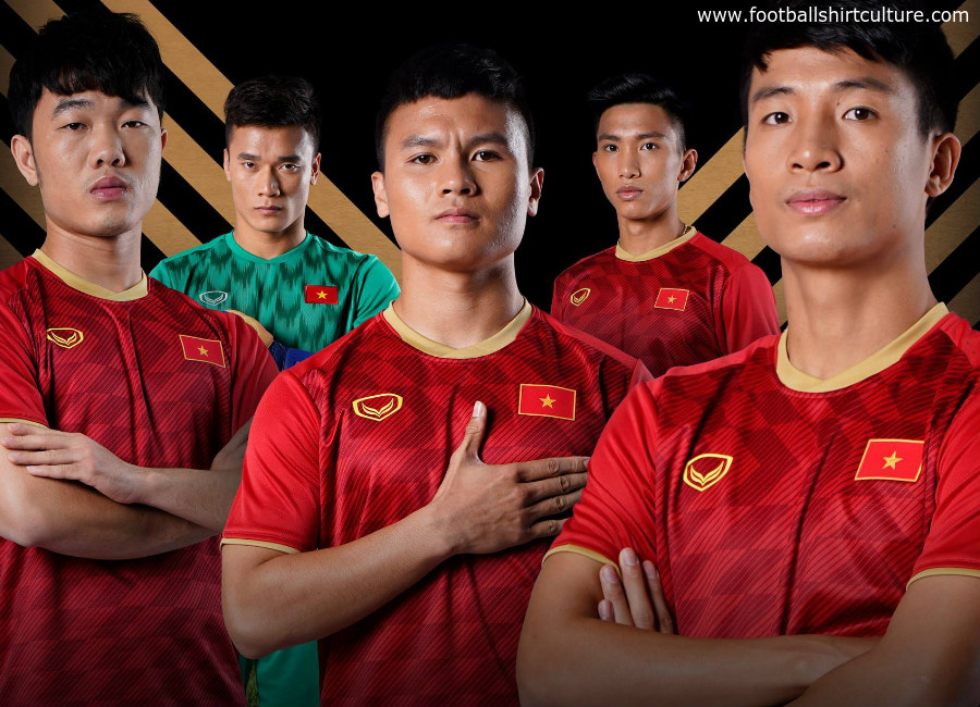Vietnam 2019 Grand Sport Home Kit  bfcebe943