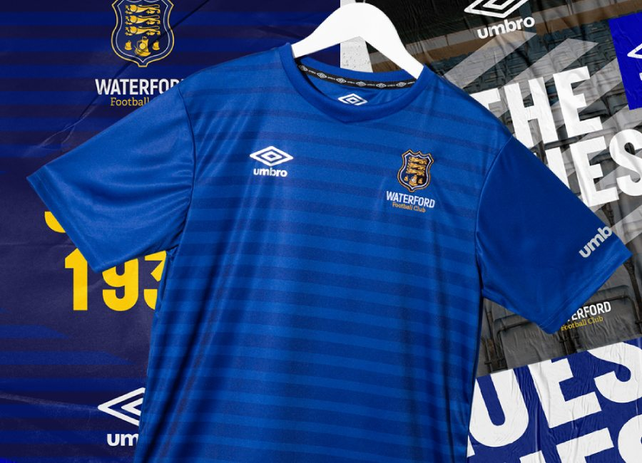 Waterford FC 2020 Umbro Home Kit #WaterfordFC #umbro #footballshirt