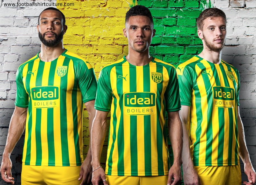 West Bromwich Albion 2019-20 Puma Away Kit #WestBromwichAlbion #footballshirt #wba #wbafc