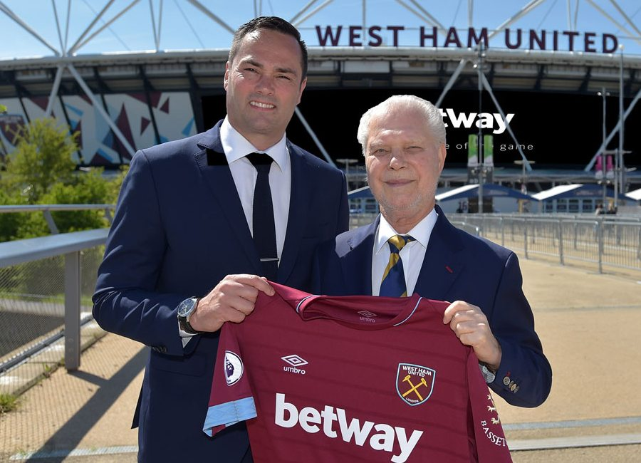West Ham United Renew partnership with Betway #whufc #westham