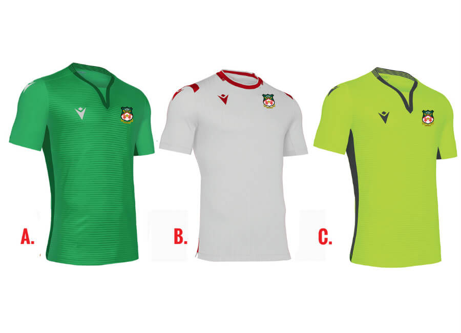 Wrexham 2019/20 Errea Away Kit Vote #WrexhamAFC #Wrexham #PickTheKit