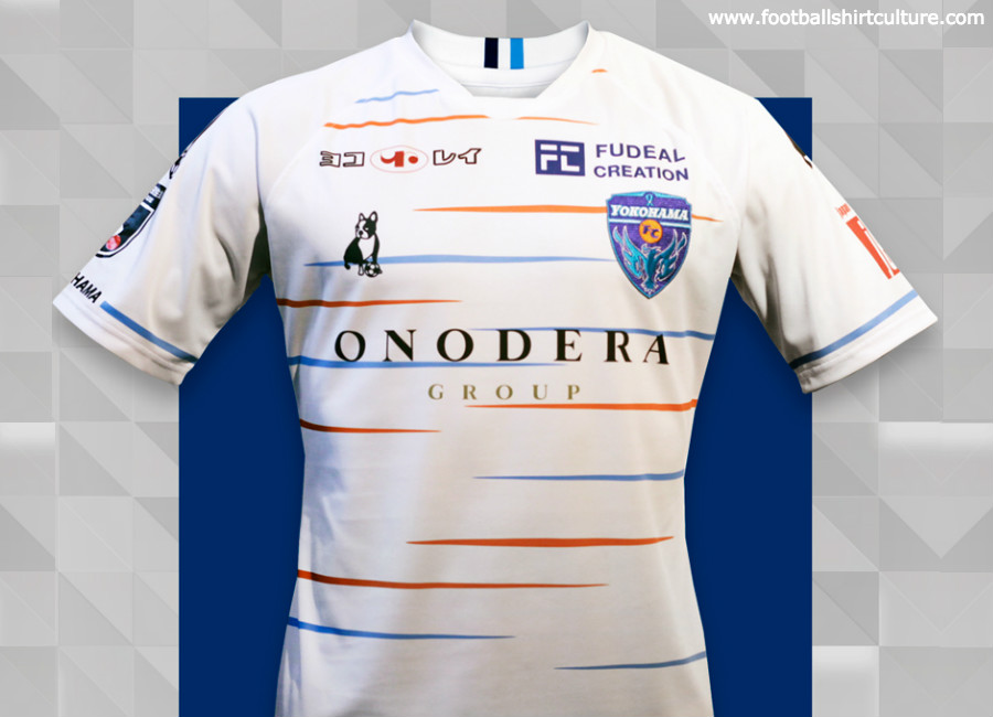 60b8285996a Yokohama FC 2019 Soccer Junky Away Kit | 18/19 Kits | Football shirt ...