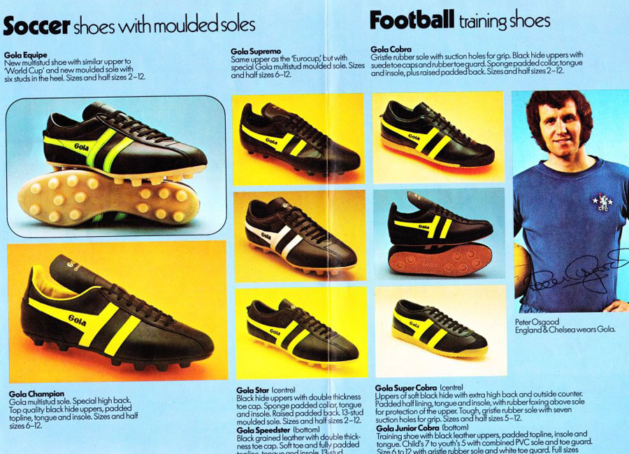 1974 Gola Catalogue Pages #golaclassics #vintagefootball