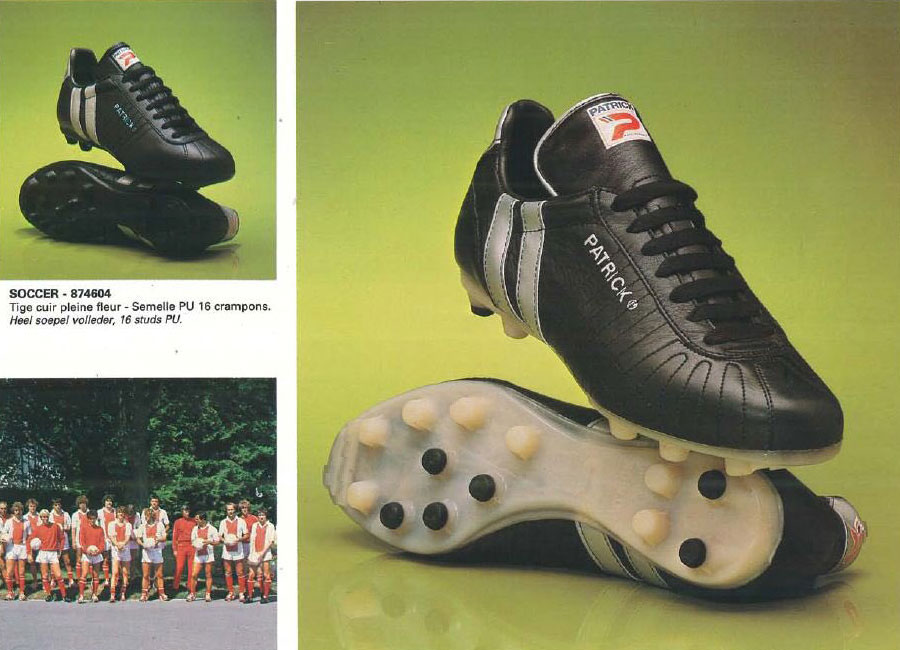 1983 Patrick Catalogue Pages #footballboots #footballboot