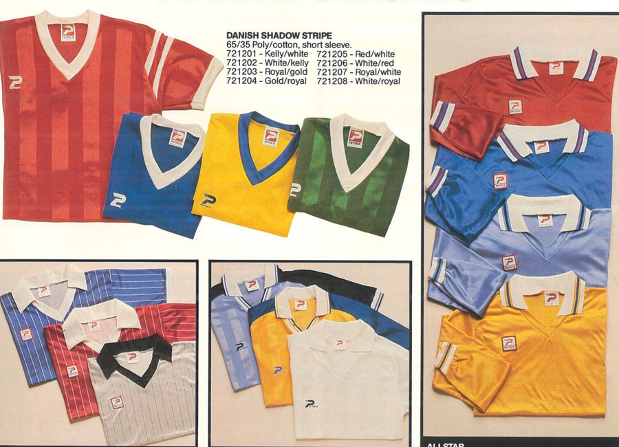 1985 Patrick Catalogue Pages #footballboots #footballkits