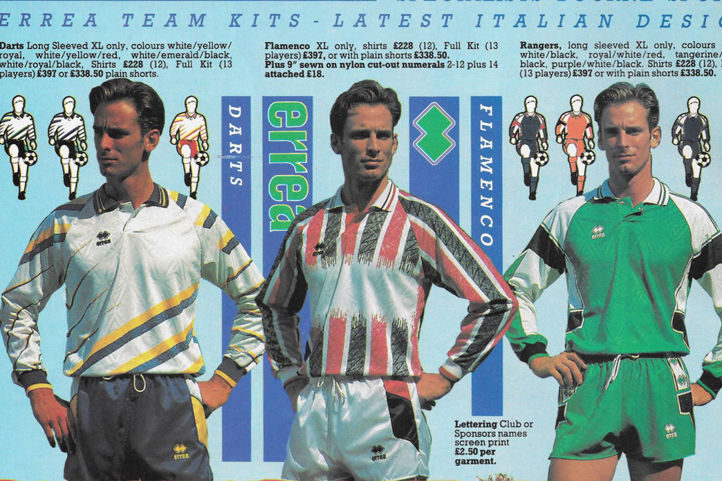 1992 Bourne Sports catalogue Part 2 #hummelsport #ErreàSport #Sondico