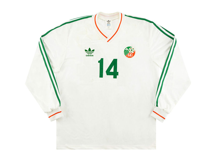 Ireland 1992 Adidas Match Issue US Cup Away Shirt #FAIreland #matchworn #adidasfootball