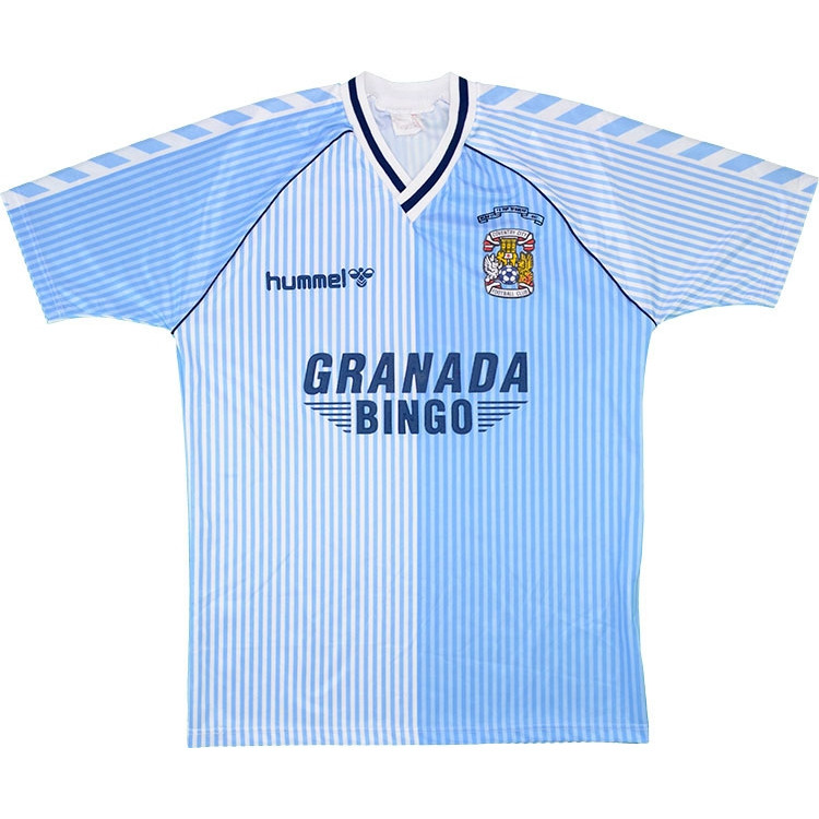 Coventry City 1987-89 'FA Cup Winners' Home Shirt