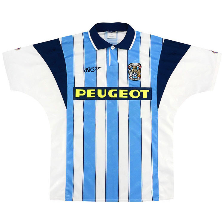 Coventry City 1991-92 Home Shirt