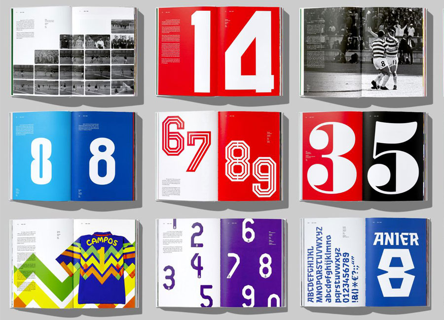 Face37 Launch Football Type 2 #face37 #typedesign #typographydesign #shirtnumbers