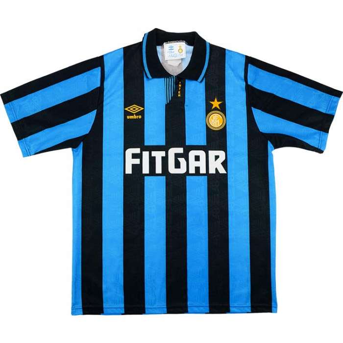 Inter Milan 1991-92 Home Shirt