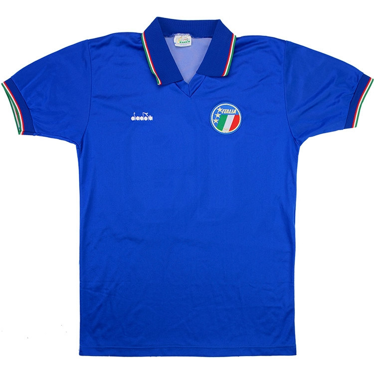 Italy 1986-90 Home Shirt