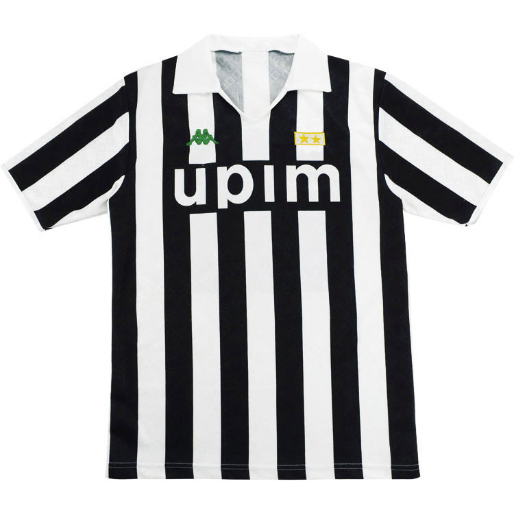 Juventus 1990-91 Home Shirt