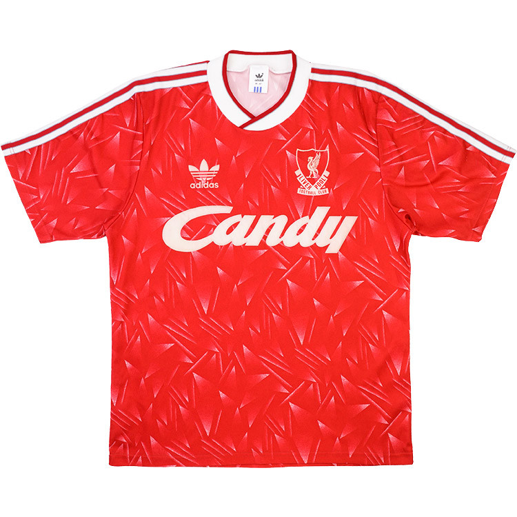 Liverpool 1989-91 Home Shirt