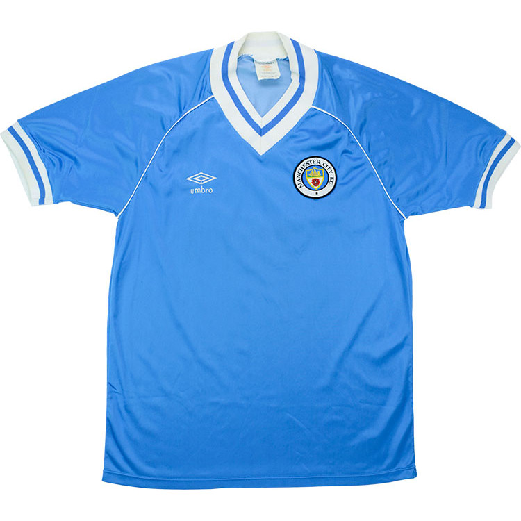 Manchester City 1981-82 Home Shirt
