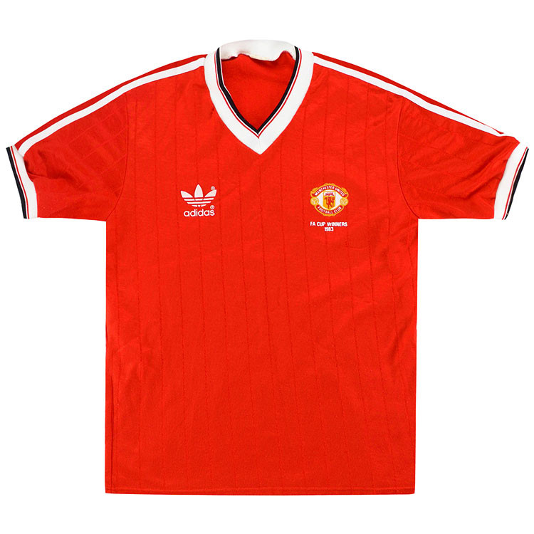 Manchester United 1983 'FA Cup Winners' Home Shirt