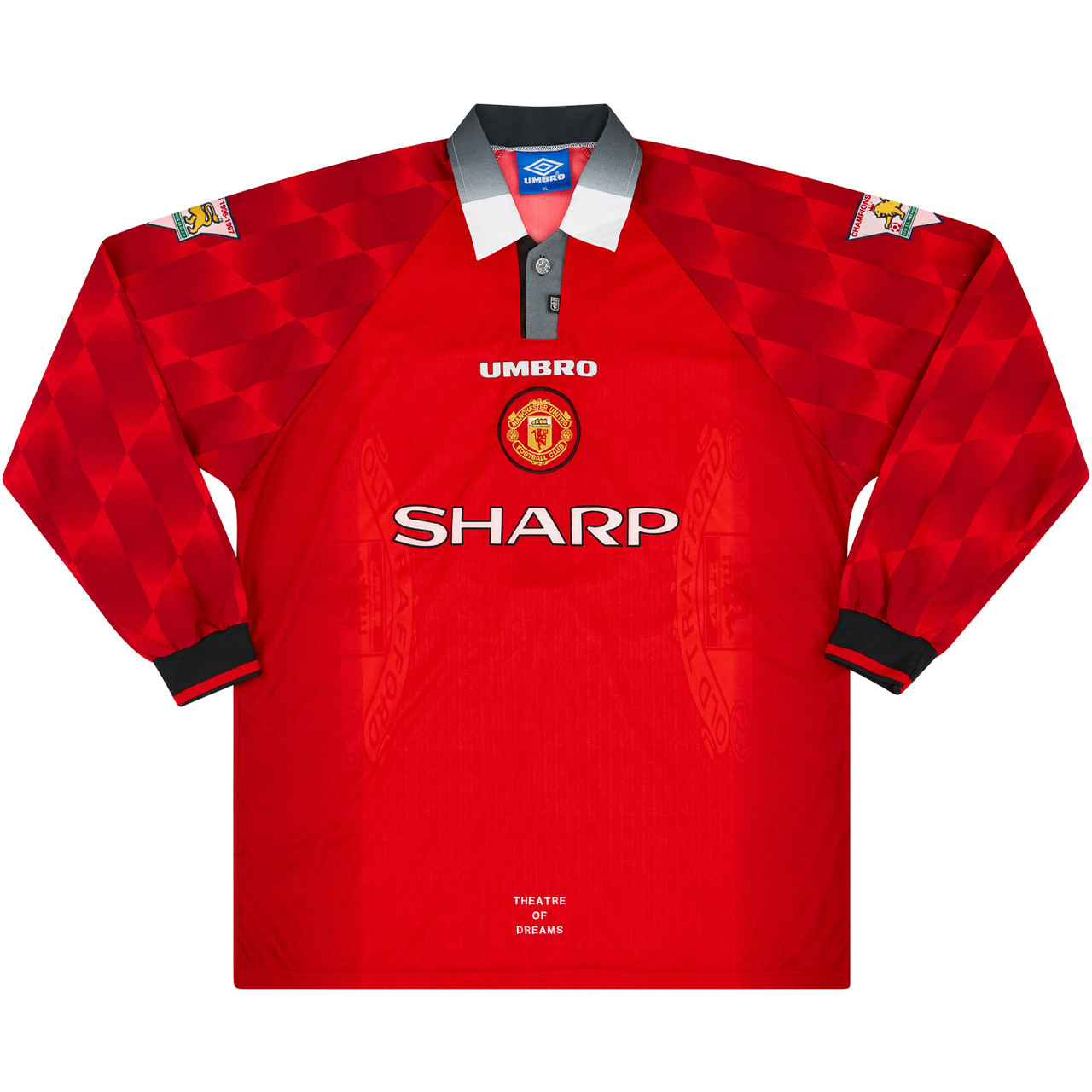 Manchester United 1997-98 Match Issue Home Shirt