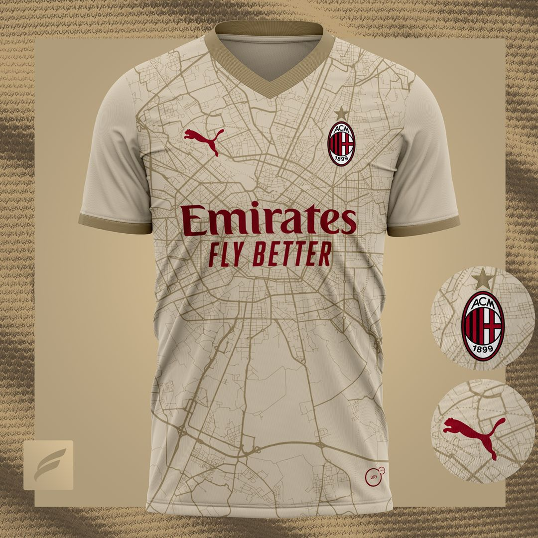 Ac Milan 2021 22 Away Kit Prediction Kit Design Football Shirt Blog