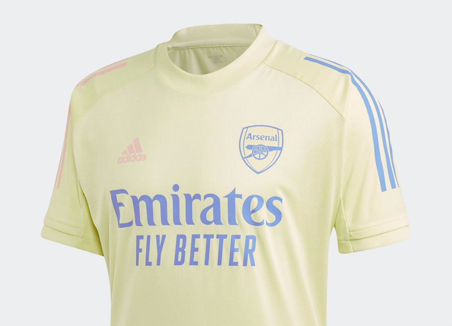 Adidas Arsenal Training Jersey - Yellow Tint #arsenalfc #adidasfootball